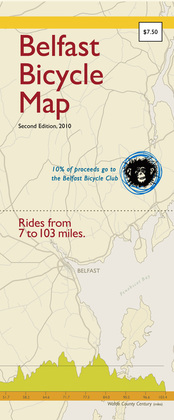 Belfast Bicycle Map